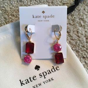 NWOT Kate Spade Mismatch Drop Earrings